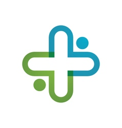 Health Medical Logo vector image