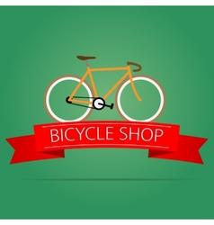 Bike shop icon vector
