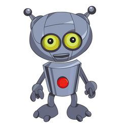 Cartoon image of robot vector