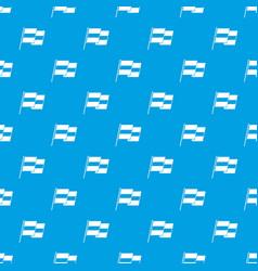 Egyptian flag pattern seamless blue vector