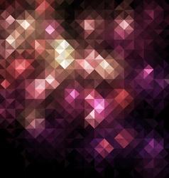 mosaic banner vector image vector image