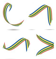 Olympic ribbon vector image