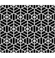Seamless hexagons texture vector image vector image