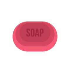 Soap icon flat style vector