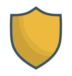 shield emblem icon image vector image