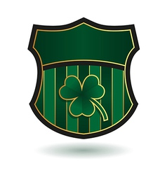 Irish emblem vector
