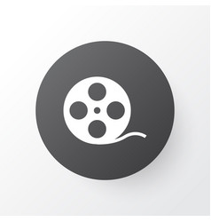 Film reel icon symbol premium quality isolated vector