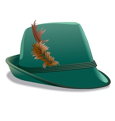 Tirol hat vector