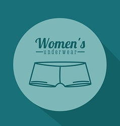 Underwear design vector