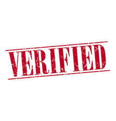 Verified vector