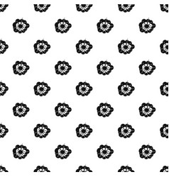 Cloudy explosion pattern vector