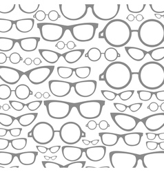 Glasses a background vector image