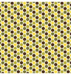 abstract hexagonal patterns vector image