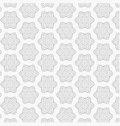 Abstract pattern of star and lines vector