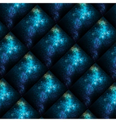 abstract shiny mosaic vector image vector image