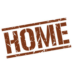 Home stamp vector