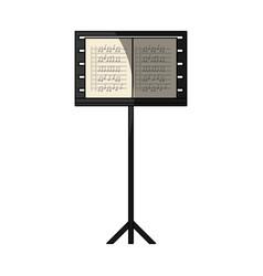 music plug isolated vector image