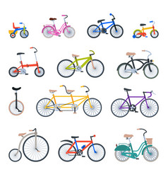 retro bike vintage style old transport ride vector image vector image