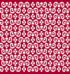 Seamless repeating pattern with decorative vector