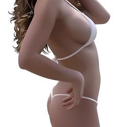 Woman Body In Bikini vector image