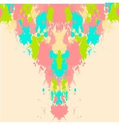 splash card background vector image