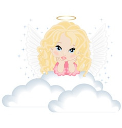 angel vector image vector image