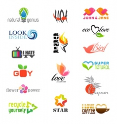 Logos vector