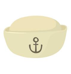 Sea-cap icon cartoon style vector