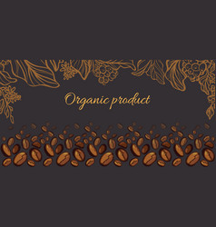 Template coffee vector