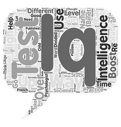 How to boost your iq text background wordcloud vector