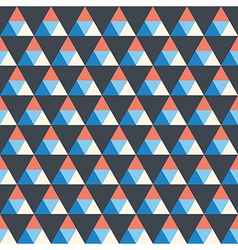 Seamless texture with triangle vector