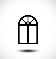 Window icon vector