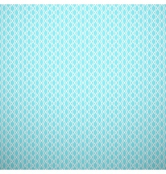 Abstract aqua elegant seamless pattern Blue and vector image vector image