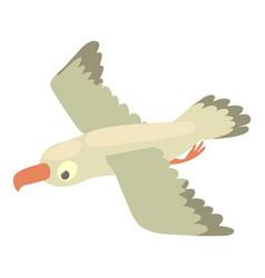 gull icon cartoon style vector image