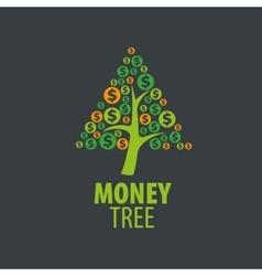 Logo money tree vector