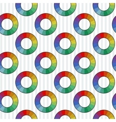 seamless abstract pattern of elements in vector image