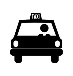 Taxi pictogram icon image vector