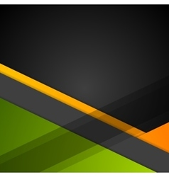 Minimal geometric concept tech background vector