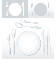 Plates vector