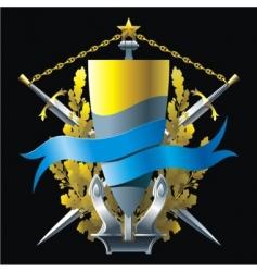 Navy emblem  vector