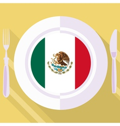 Kitchen of mexico vector