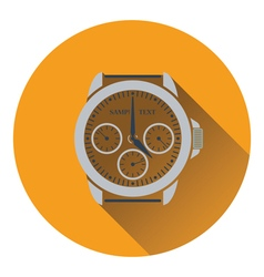 Icon of watches vector