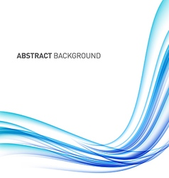 Abstract curve futuristic background vector