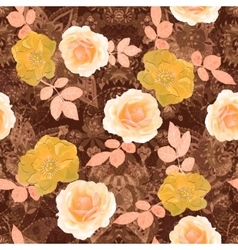 floral seamless Isolated vector image