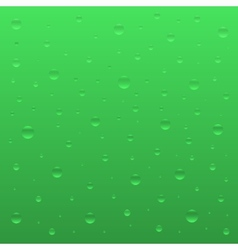 Green bubbles vector