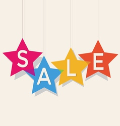 Sale price labels vector