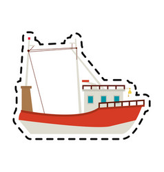Ship icon image vector