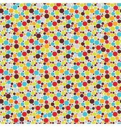 Seamless pattern with cool dots vector
