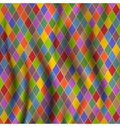 Multicolored rhombuses vector image