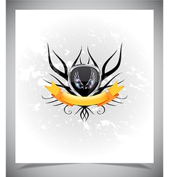 Abstraction light background with wings vector image vector image